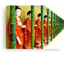 Buddhas... Kek Lok Si Temple Canvas Print