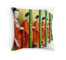 Buddhas... Kek Lok Si Temple Throw Pillow