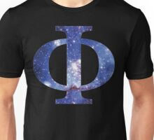 Blue Galaxy | Uppercase Phi Unisex T-Shirt