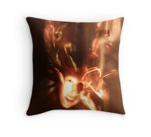 Rapid Movement Throw Pillow