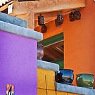 Multi-Colored House by Linda Gregory