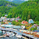 Ketchikan Alaska by Dana Yoachum