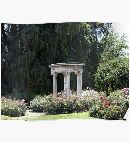 Roman Garden Poster
