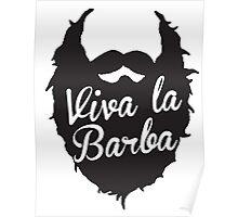 Long Live The Beard Poster