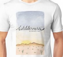 """Wilderness"" Watercolor Print Unisex T-Shirt"