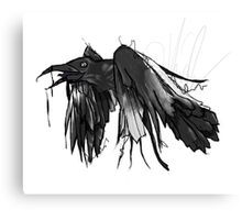 DrippyRaven Canvas Print