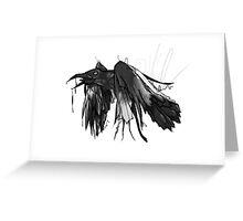 DrippyRaven Greeting Card