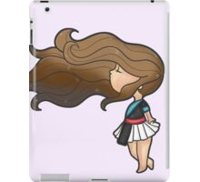 Brown Hair Hmonggy Girl iPad Case/Skin