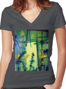Making the Masterpiece 1.0 Women's Fitted V-Neck T-Shirt