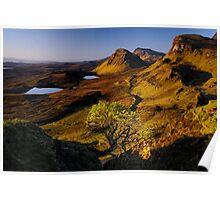 Quiraing, Isle of Skye Poster