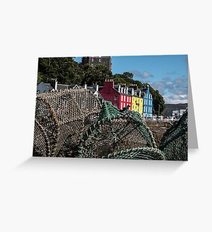 Beautiful Tobermory Greeting Card