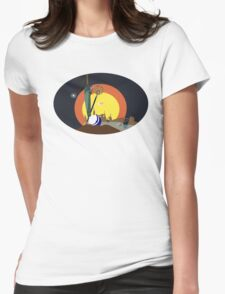 Final Fantasy X Opening Vector (Adjusted No Clouds) Womens Fitted T-Shirt