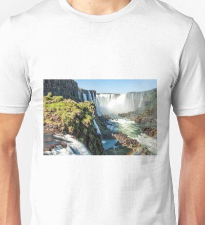 Around the Throat - Iguazu Falls Unisex T-Shirt
