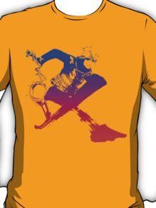 Shulk Super Smash Bros X Final Fantasy Logo (No Name) T-Shirt