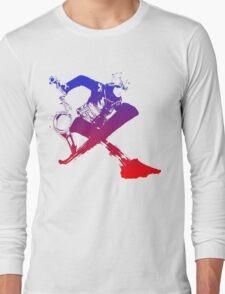 Shulk Super Smash Bros X Final Fantasy Logo (No Name) Long Sleeve T-Shirt