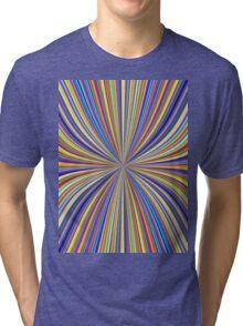 Pinched Waist Tri-blend T-Shirt