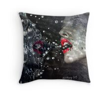 the alienation of sorrow Throw Pillow