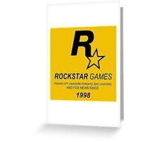 Rockstar, Since 1998 Greeting Card