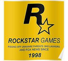 Rockstar, Since 1998 Poster