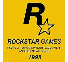 Rockstar, Since 1998 Photographic Print