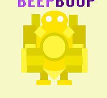 Beep Boop by CrazyTigerLady