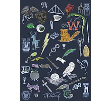 Whimsical Harry Potter in Color Photographic Print
