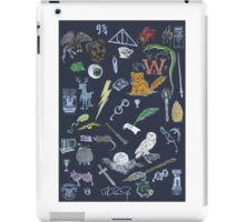 Whimsical Harry Potter in Color iPad Case/Skin