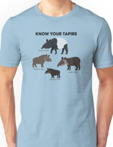 Know Your Tapirs Unisex T-Shirt