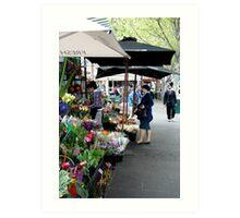 City Florist, Melbourne Art Print