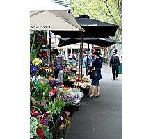 City Florist, Melbourne Photographic Print