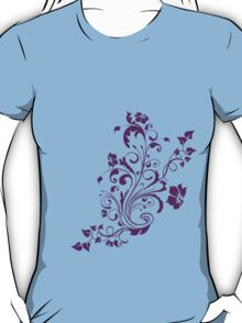 Flower Pedal Design T-Shirt