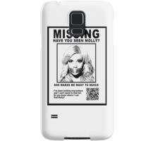 Have You Seen Molly? Samsung Galaxy Case/Skin