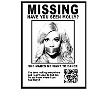 Have You Seen Molly? Photographic Print