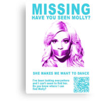Have You Seen Molly? Canvas Print