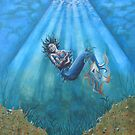 Mermaid and baby by Tina-Renae