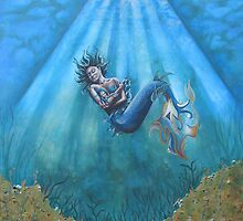 Mermaid and baby by Tina-Renae