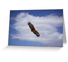 Soaring Above the Clouds Greeting Card