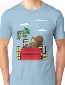Typewriting Squirrel Unisex T-Shirt