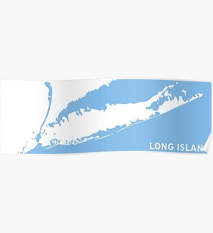 Long  Island - New York. Poster