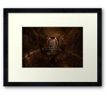 The Great Stairway Framed Print