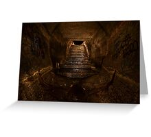 The Great Stairway Greeting Card