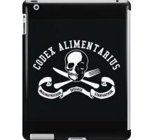 Codex Alimentarius - Malnutrition, Disease, Starvation iPad Case/Skin