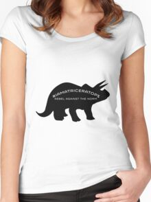 #IAMATRICERATOPS Women's Fitted Scoop T-Shirt