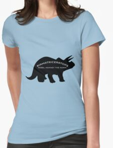 #IAMATRICERATOPS Womens Fitted T-Shirt