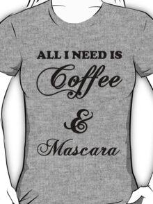 coffee mascara T-Shirt