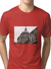 ST, PAULS CATHEDRAL Tri-blend T-Shirt