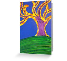 Magic Tree by Holly Cannell Greeting Card