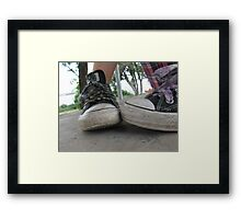 Converse All Star Framed Print