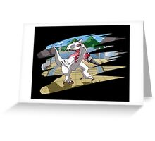 We Have An I-Rex Greeting Card
