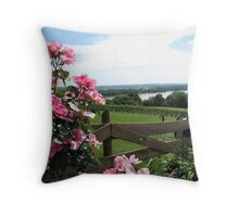 Oak Glenn Vineyards and Winery, Missouri Throw Pillow